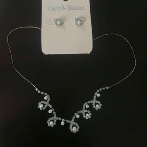 David's Bridal Jewelry Set